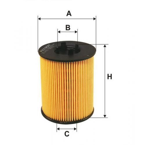 Filtr oleju Filtron OE 648/2