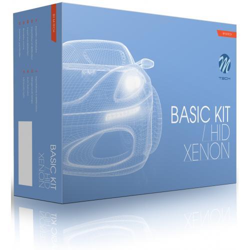 Zestaw Xenon HID analogowy BASIC H7R z przesłoną