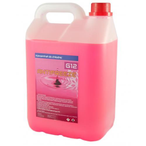 Płyn do chłodnic Omega konc. antifreeze G12 różo5L
