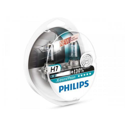 Żarówka H7 12V 55W Philips X-Treme Vision+130% kpl