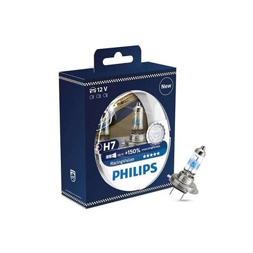 Żarówka H7 12V 55W Philips Racing Vision+150% kpl