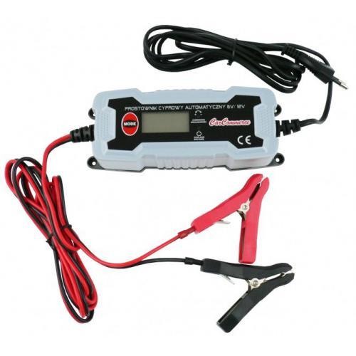 Prostownik cyfrowy automatyczny 6-12V 0,8-3,8A