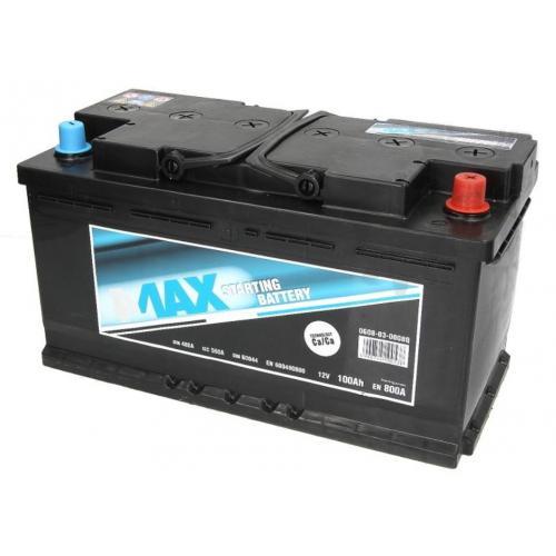 AKUMULATOR 100Ah/800A P+ 4MAX ECOLINE