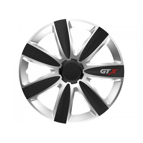 Kołpak koła GTX carbon black / silver
