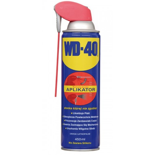 WD-40 PREPARAT WIELOFUNKCYJNY Z APLIKATOREM 450 ML