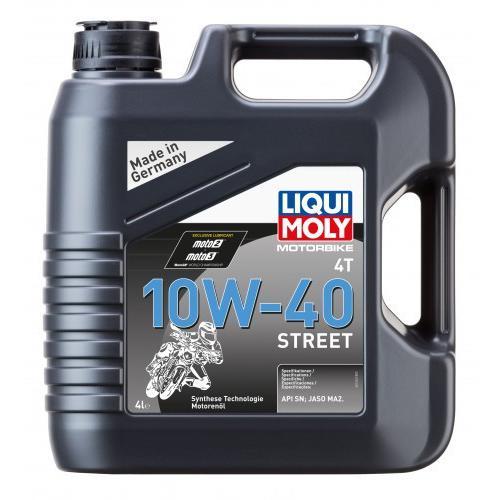 Olej 10W40 Liqui Moly Motorbike 4T 4L