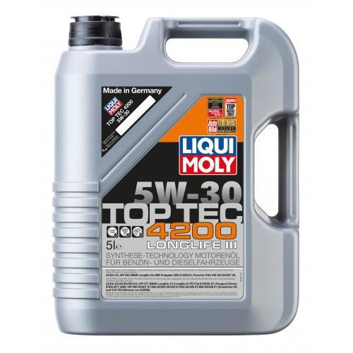 Olej 5W30 Liqui Moly TOP TEC 4200 5L
