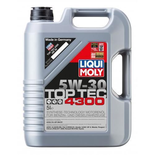 Olej 5W30 Liqui Moly TOP TEC 4300 5L