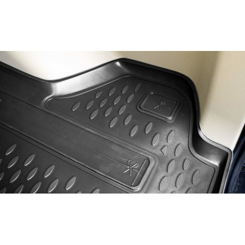 Dywanik PU bagażnika Citroen C3 II hb 2009-2016