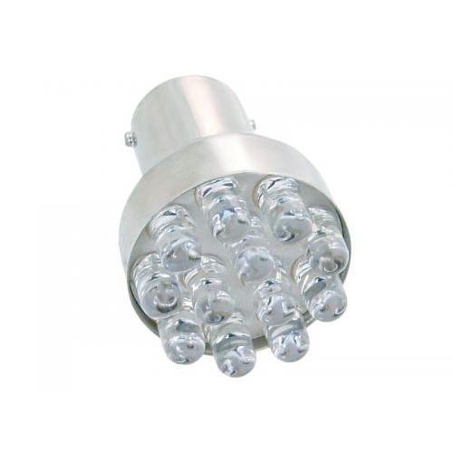 ŻARÓWKA BA15S 12 LED WH (Z. 21W) Biały