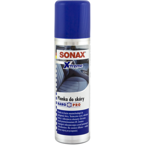 Sonax XTREME pianka do skóry 250ml. Spray