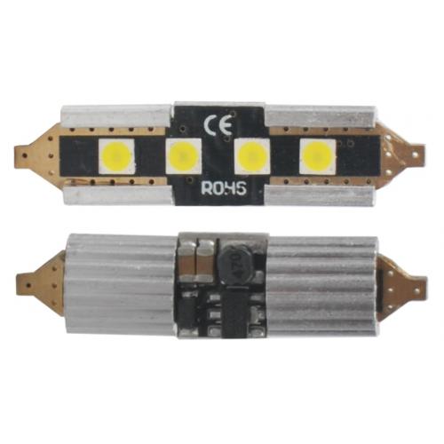 Żarówka C5W 36mm 4 3632 SMD 2W WH