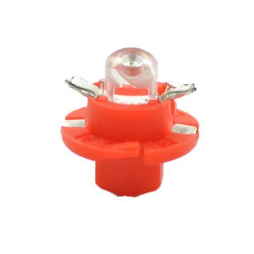 Żarówka B8,4 D LED RED