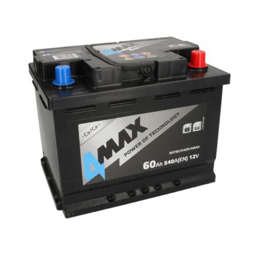 Akumulator 60Ah 540A P+ 4MAX