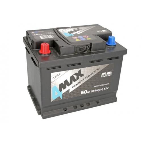 Akumulator 60Ah 510A L+ 4MAX
