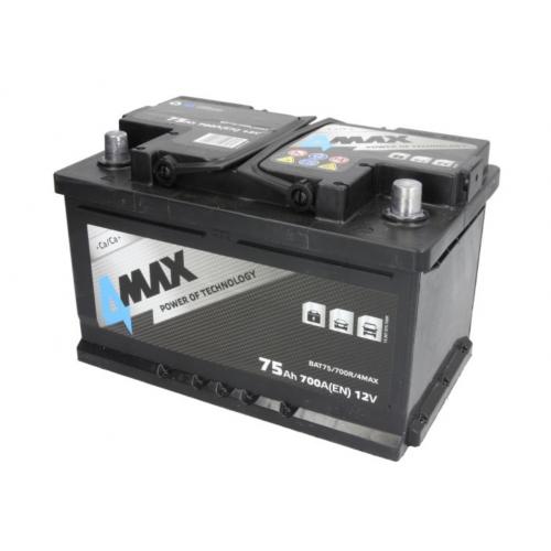 Akumulator 75Ah 700A P+ 4MAX TDI HDi TDDI CDTi