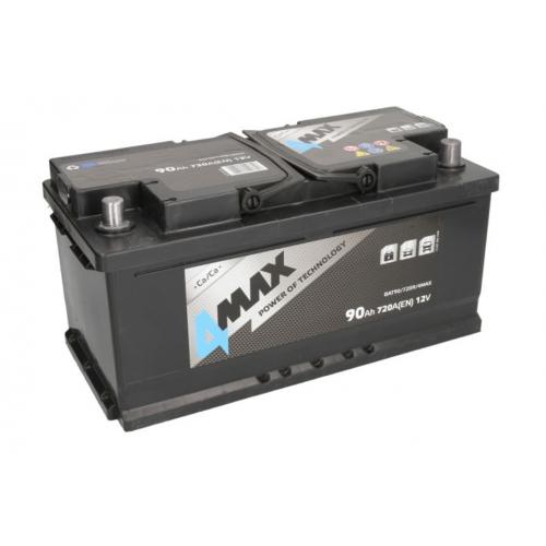 Akumulator 90Ah 720A P+ 4MAX