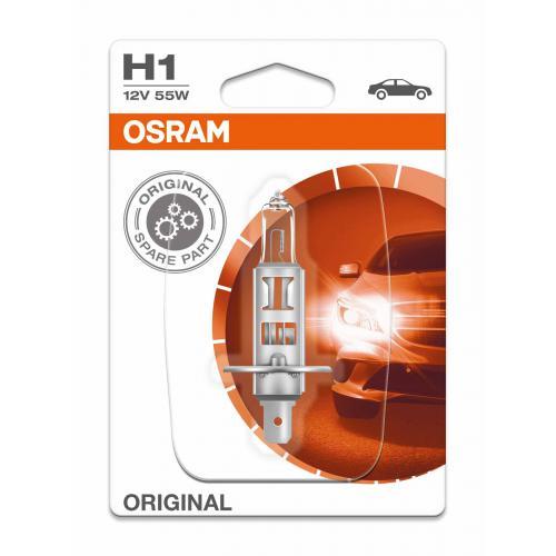 Żarówka H1 P14,5s Osram1 szt blister