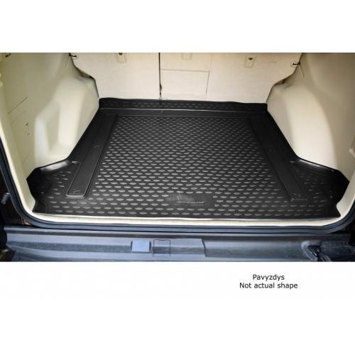 VW Polo 10- sedan Dywanik mata bagażnika