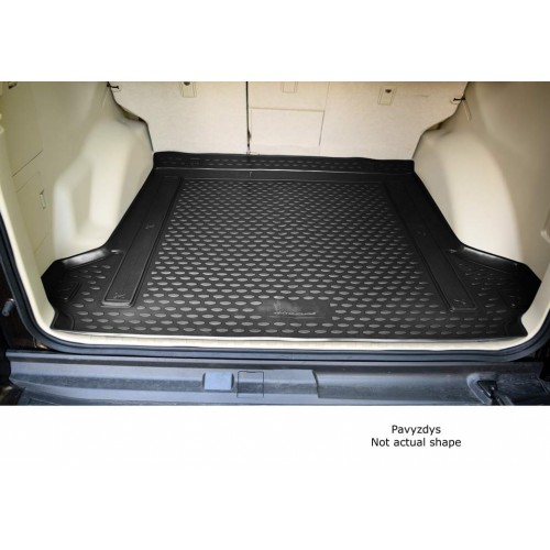 VW Polo 09- lower boot hb Dywanik mata bagażnika