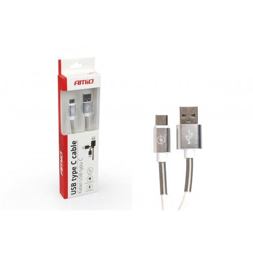 Kabel przewód do ładowarki telefonu USB USB typ C