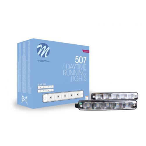 Lampy światła jazdy dzienne Mtech LDO507 Osram LED