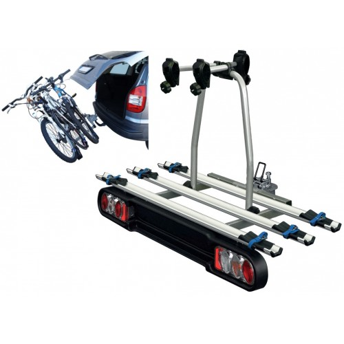 Bagażnik na hak MENABO Project Tilting na 3 rowery