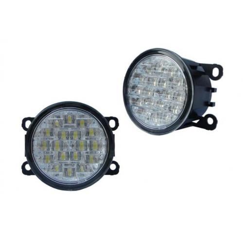 Lampy dzienne Noxon NOK2 18 LED okrągłe 90mm 1813