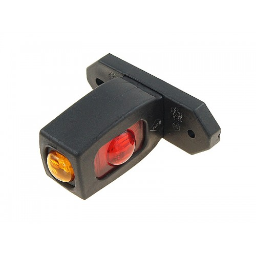Lampa obrysowa LED boczna białe czerw. pomarańcz.