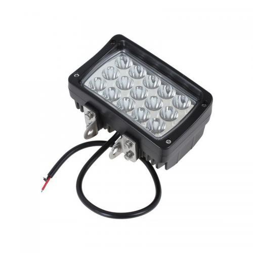 Lampa robocza Panel 15 LED 45W Quad 4x4 Mocny