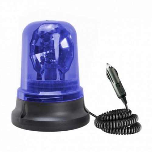 Lampa ostrzegawcza Kogut niebieski H1 12V Atest