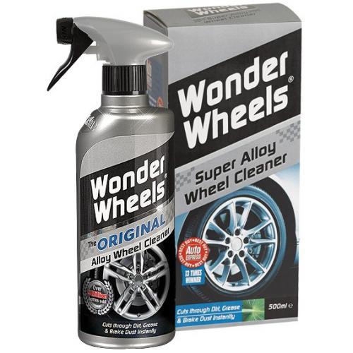 CARPLAN Wonder Wheels + pędzelek do mycia felg