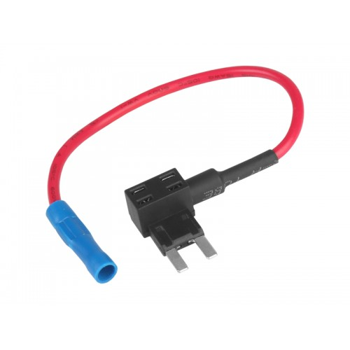 Adapter bezpiecznikowy Płytkowy MINI x2 bypass