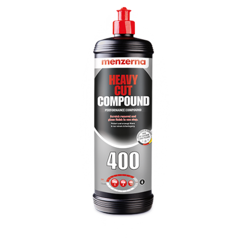 Menzerna Heavy 400 Pasta polerska Korekta w1 kroku