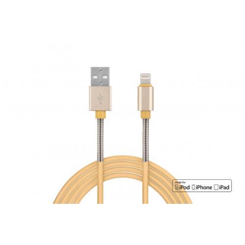Kabel USB - Lightning iPhone iPad FullLINK 2,4A 1m