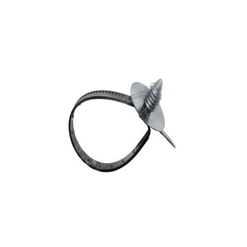 Opaska zaciskowa z kołkiem 6x130 spinka kablowa