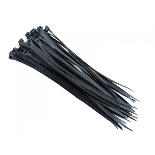 Opaski kablowe zaciskowe czarn 2,5x100 x100 trytki