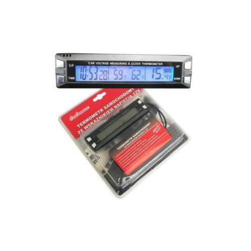Termometr samochowody wew/zew, wskaźnik napięcia