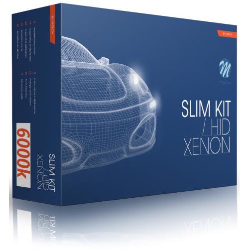 Zestaw Xenon HID cyfrowy SLIM H4 Bi-xenon