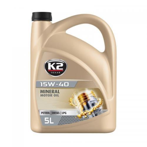 K2 Olej 10W40 K2 SL CF CF-4 5L półsyntetyczny