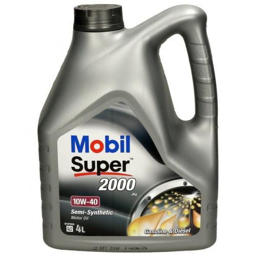 OLEJ 10W40 MOBIL SUPER 2000 X1 4L