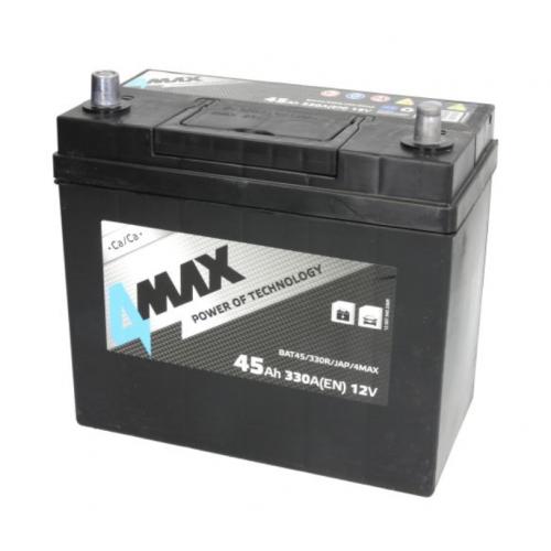 Akumulator 45Ah 330A P+ 4MAX cienkie klemy