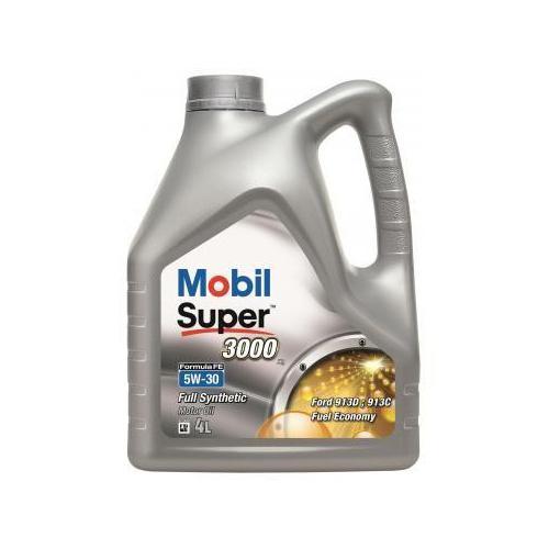 Olej 5W30 Mobil Super 3000 X1 F-Fe 4L + Gratis !