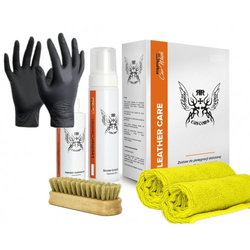 RRC Box Leather Cleaner Soft do Skóry + Rękawiczki