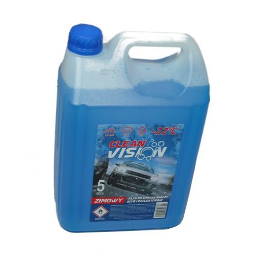 Płyn do spryskiwaczy zimowy Clean Vision 5L -22