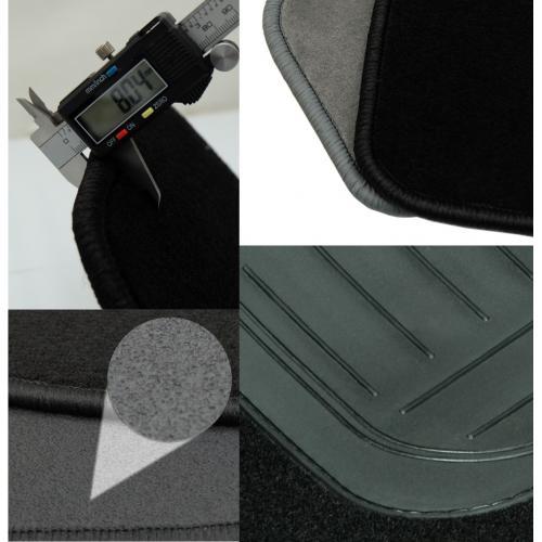 DAF XF 95 97-06 Dywanik welurowy środek Manual