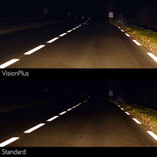 Żarówka Philips Vision H4 12V +30% więcej światła!