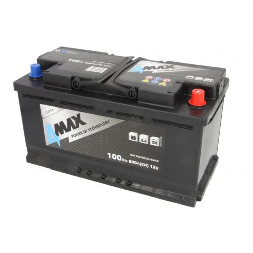 Akumulator 100Ah 800A P+ 4MAX