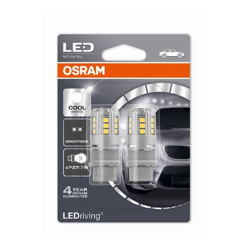 OSRAM LEDriving® P27/7W 2.5W Żarówki Led 6000k