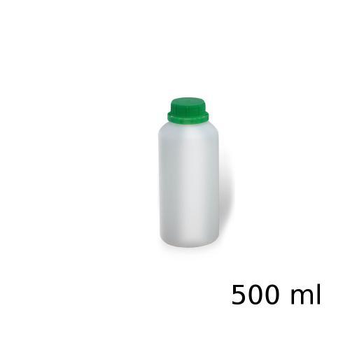 Butelka plastikowa PEHD z podziałką 500ml zakrętka